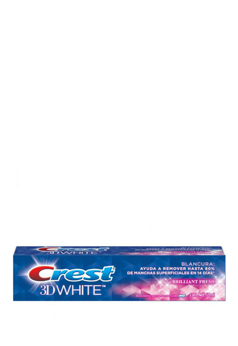 Crema Dental Crest 3D White Brilliant Fresh 53 ml