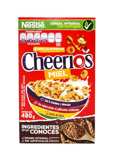 Cereal Nestle Cheerios Miel 480 g
