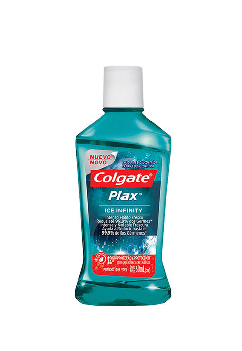 Enjuague Bucal Colgate Plax Ice Infinity 60 ml