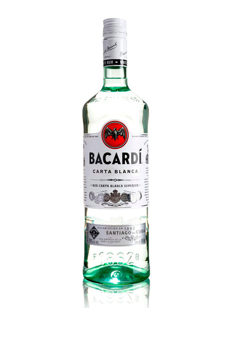 Ron Bacardí Blanco 980 ml