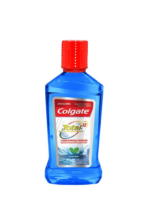 Enjuague Bucal Colgate Total 12 Clean Mint 60 ml
