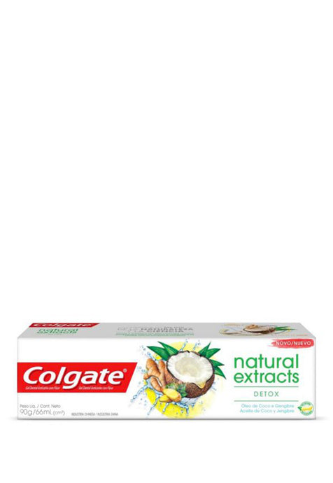 Pasta Dental Natural Extracts Colgate Detox 66 ml