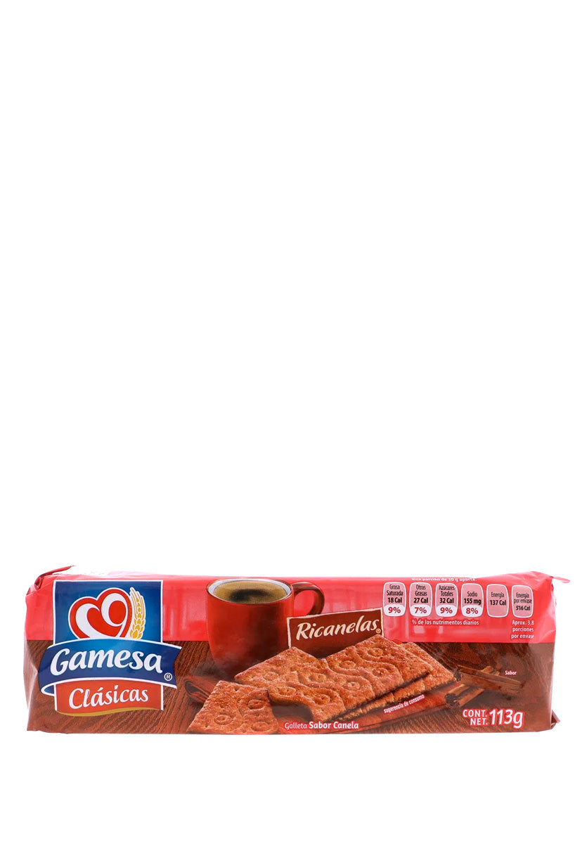 Galletas Ricanelas Gamesa 113 g