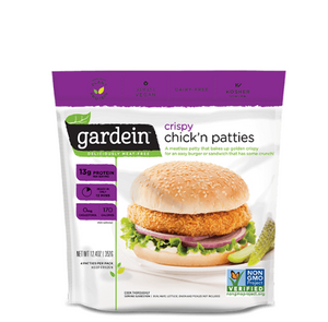 Crispy Chicken Patties, Gardein 352 g