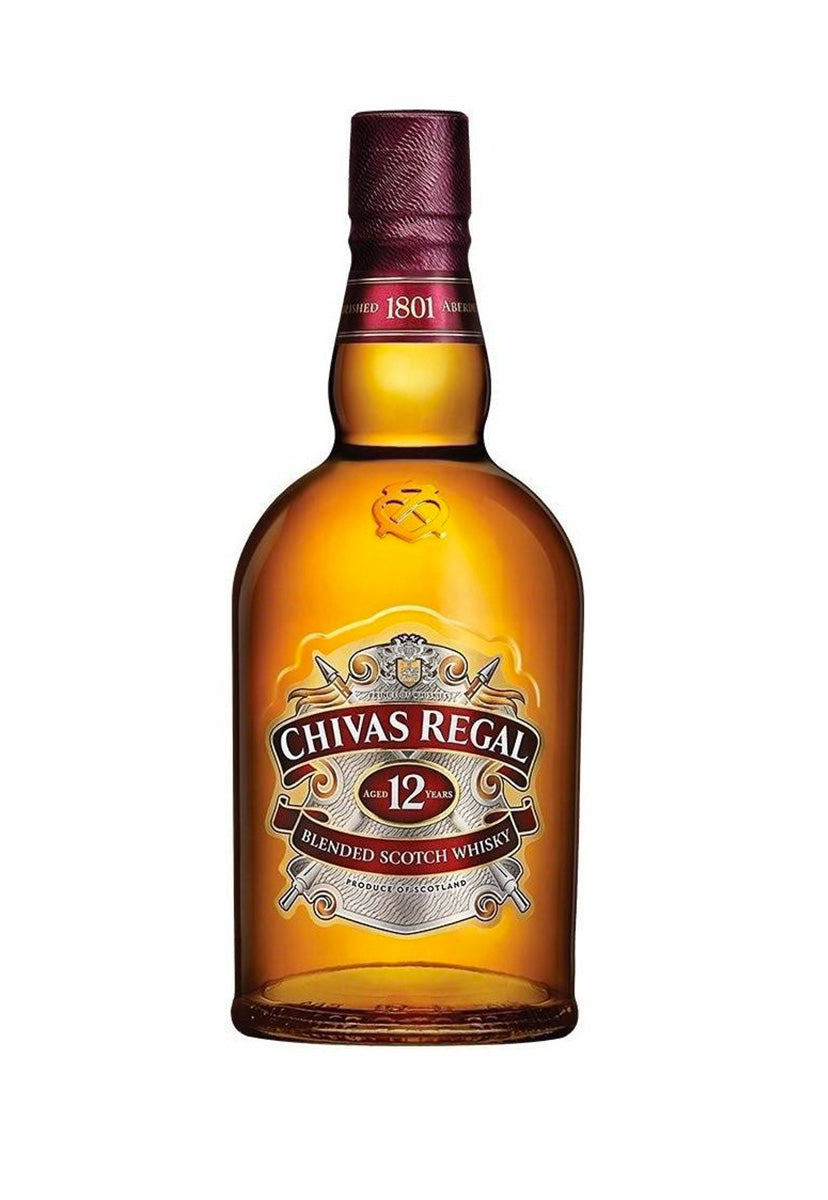 Whisky Chivas Regal 12 Años 750 ml