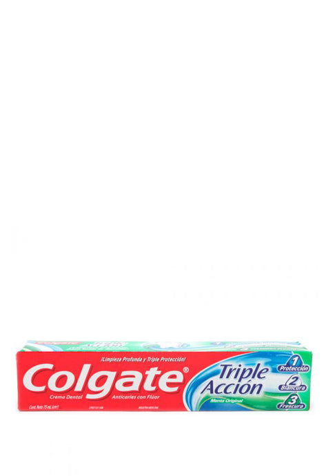 Crema Dental Triple Acción Colgate 75 ml