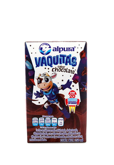 Leche Alpura de Chocolate 250 ml