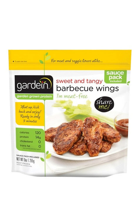 Sweet And Tangy Barbecue Wings, Gardein 255  g