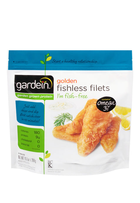 Golden Fishless Filets, Gardein 288  g