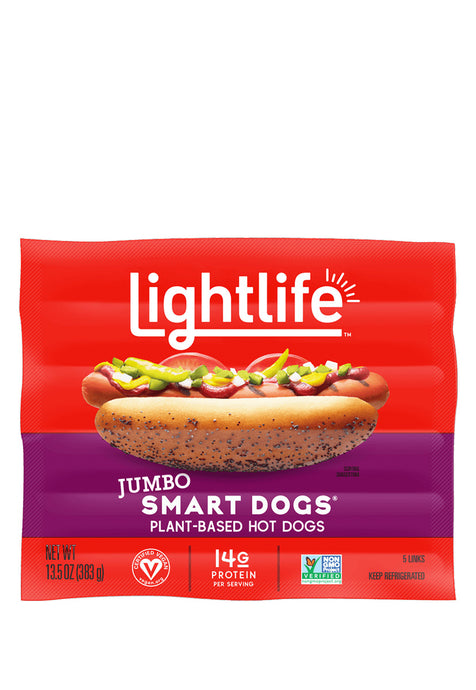 Smart Dogs Jumbo, LightLife 383 g