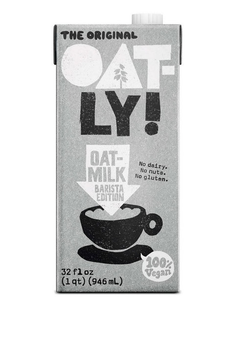 Oat Milk Barista Tetra Slim, Oatly 946 ml