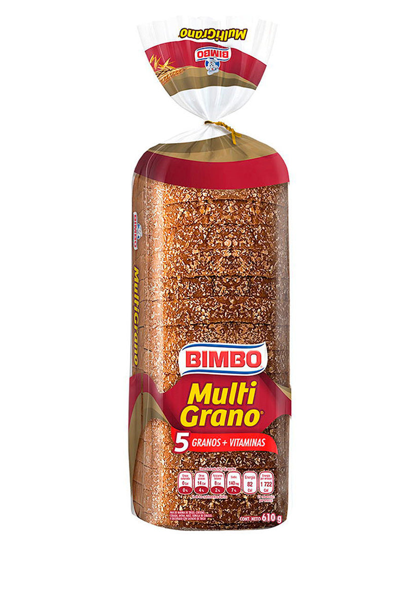 Pan Multigrano Bimbo 610 g