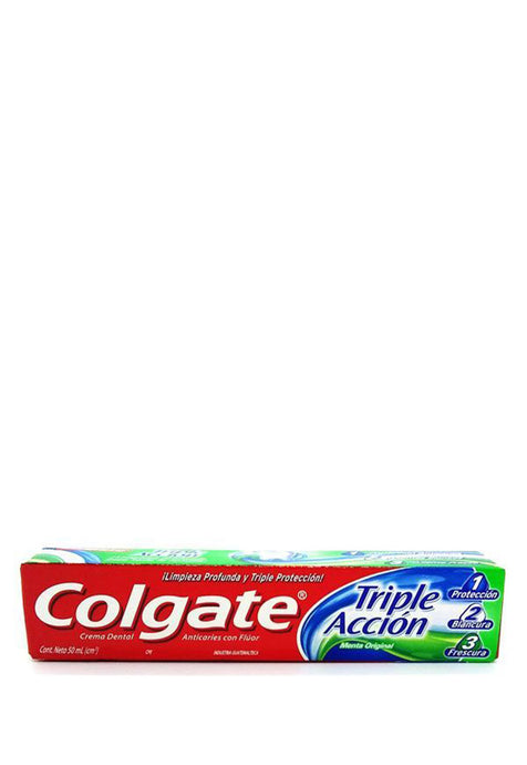 Crema Dental Triple Acción Colgate  50 ml