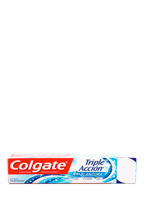 Crema Dental Colgate Triple Acción Whitening 50 ml