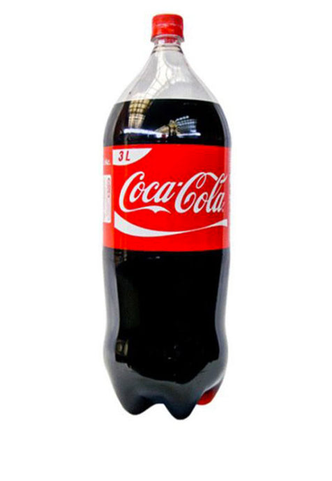 Refresco Desechable Coca Cola 3 lt