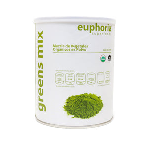 Euphoria Superfoods, Green Mix Orgánico 350 g