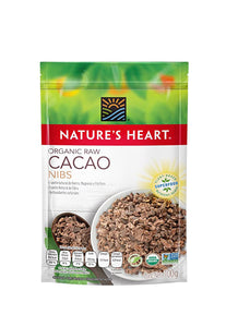 Organic Raw Cacao Nibs Nature's Heart 100 g