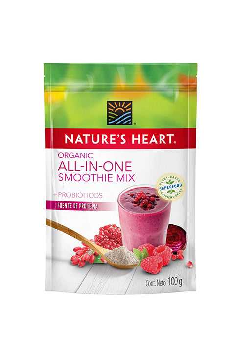 Smoothies All In One Orgánico Nature's Heart 100 g
