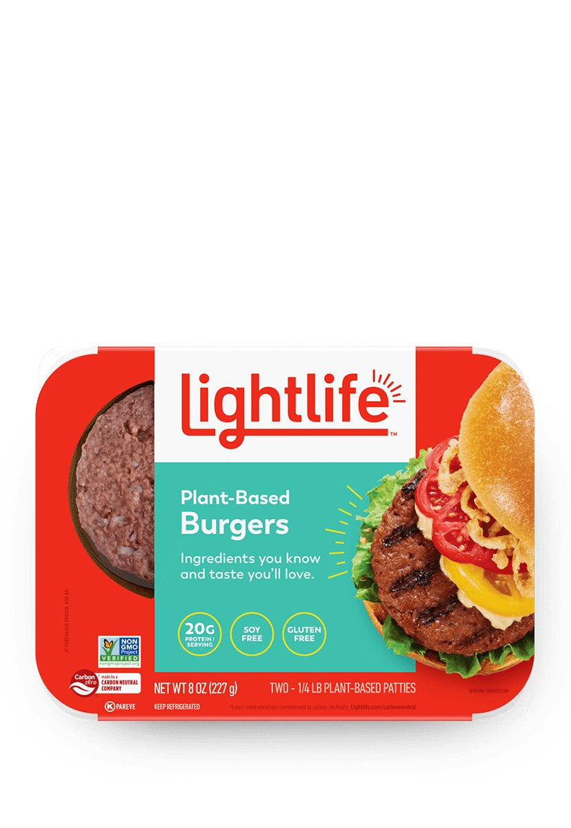Plant-Based Burgers Lightlife 227 g