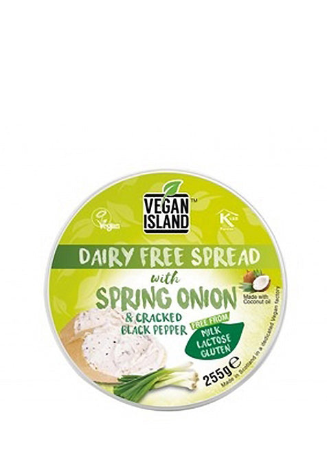Dairy Free Spread With Spring Onion Vegan Island 255 g