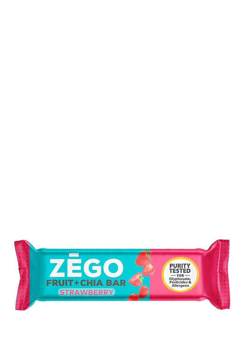 Fruit + Chia Bar Strawberry Zego 25 g