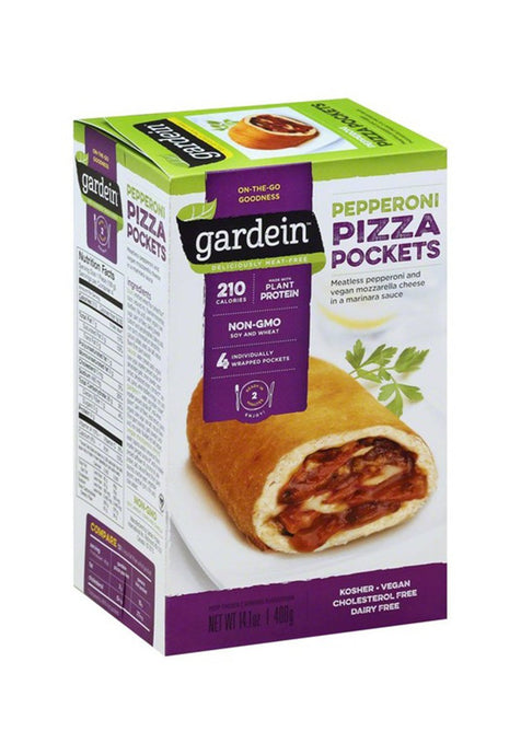 Pepperoni Pizza Pockets Gardein 400 g