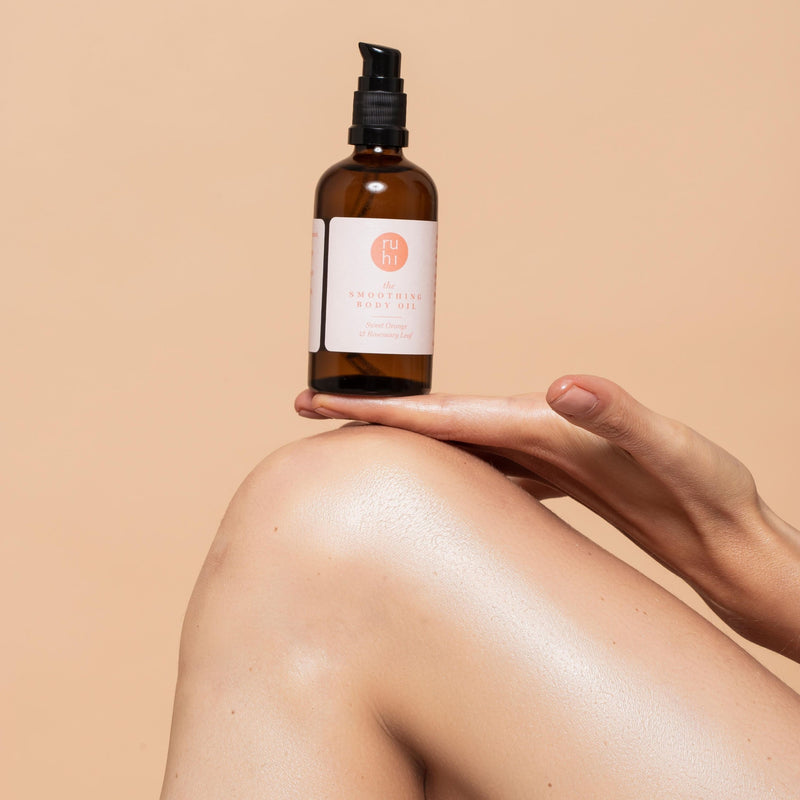 the Smoothing Body Oil