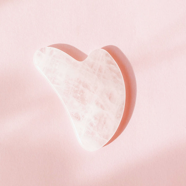the Rose Quartz Gua Sha
