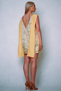 HANA Minidress yellow gold