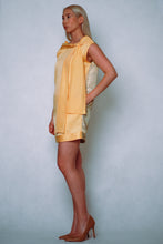 Load image into Gallery viewer, HANA Minidress yellow gold