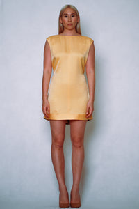 HANA Minidress yellow crane