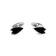 Load image into Gallery viewer, Onyx Surfer Cufflinks