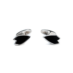 Onyx Surfer Cufflinks