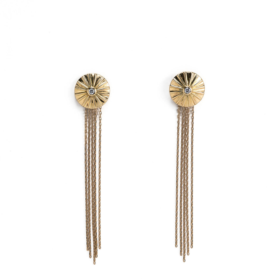 Parapluie Earrings in 18KGold