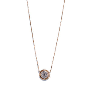 Bubble Diamond Pavé Necklace