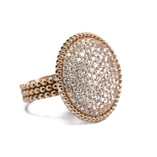 Load image into Gallery viewer, Diamond Pavé Ring 18K Gold