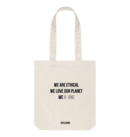 Natural Reflexone Tote Bag