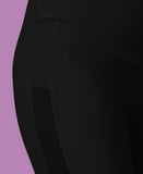 black cycle short seam detail