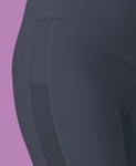 grey cycle short detail