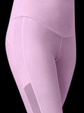 pink legging detail