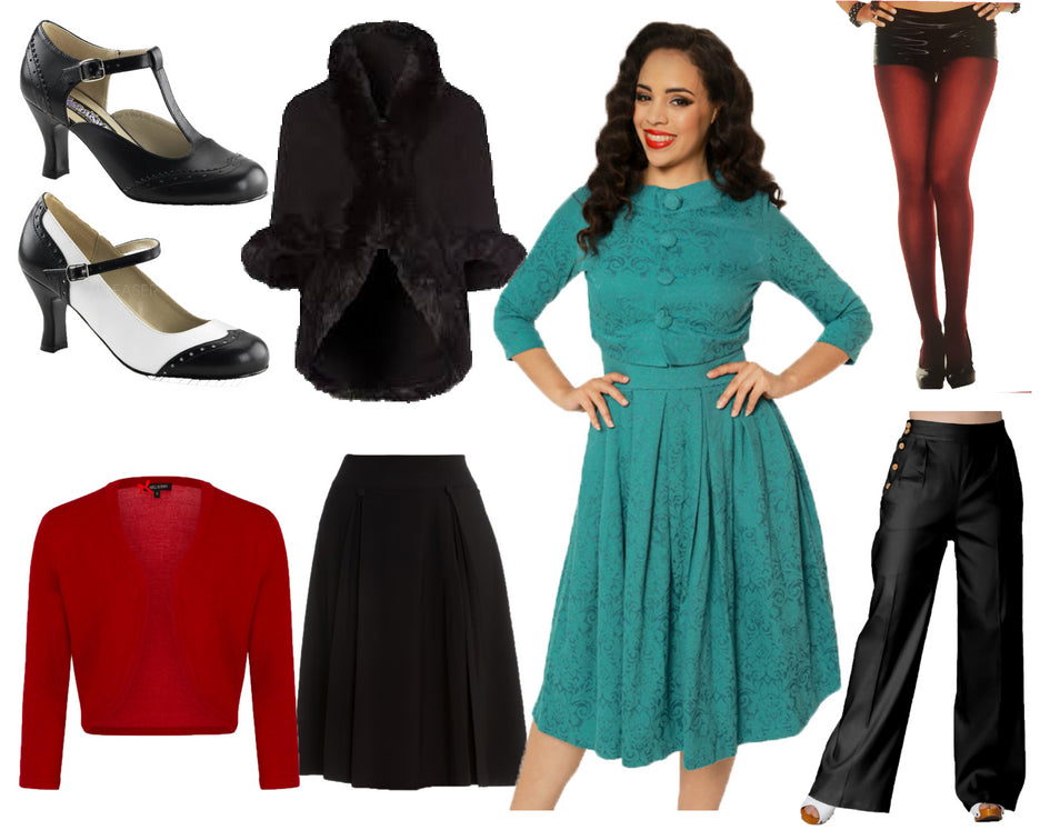 Vintage Inspired Winter Capsule Wardrobe