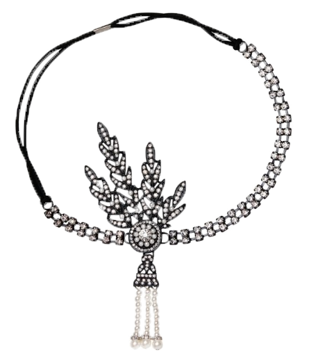 Daisy Marcasite Hair Piece