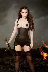 Vargas Dress- Cupless Black