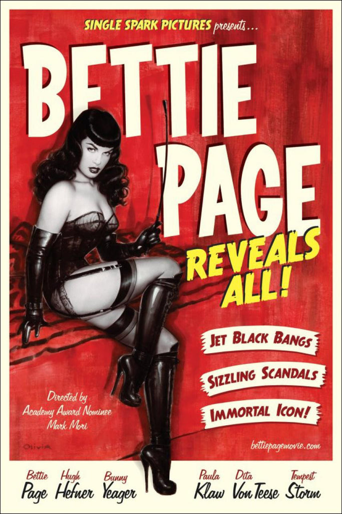 Bettie Page Reveals All DVD
