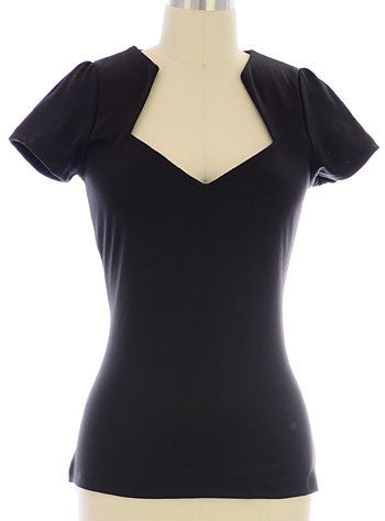 Sophia Top Black