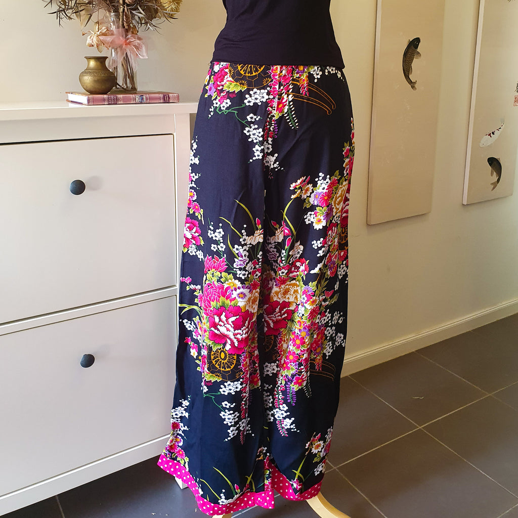 Lounge Pants - Japanese Floral