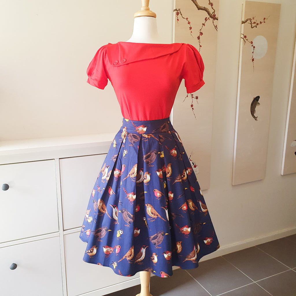 1950s style review skirt