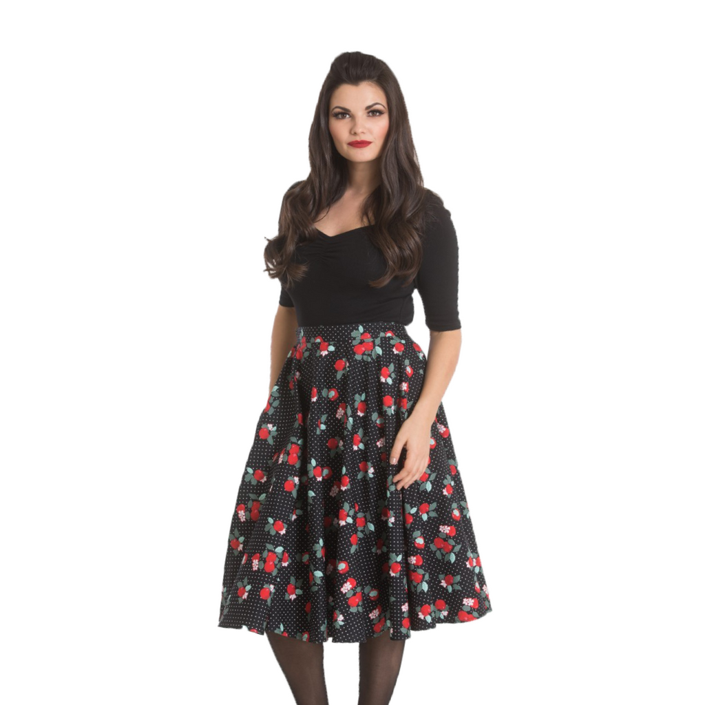 rockabilly circle skirt