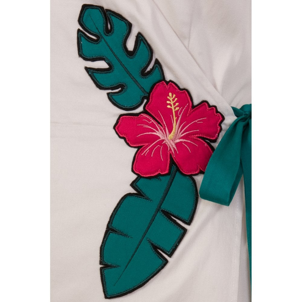 hibiscus applique