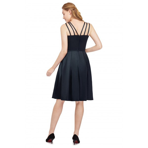 rockabilly black dress